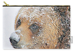 Grizzly Frost Carry-all Pouch