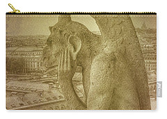 Grotesque From Notre Dame Carry-all Pouch