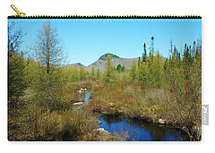 Carry-all Pouch featuring the photograph Groton State Forest Moose Country by Sherman Perry