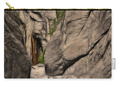Grotto Canyon Fractal Carry-all Pouch