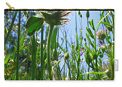 Ground Level Flora Carry-all Pouch