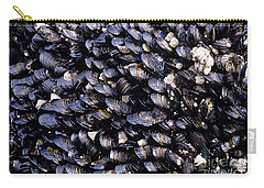 Group Of Mussels Close Up Carry-all Pouch