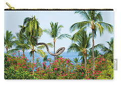 Grow Your Own Way Carry-all Pouch by Denise Bird