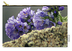 Carry-all Pouch featuring the photograph Growing In Granite by Jeremy Rhoades