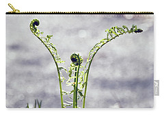 Carry-all Pouch featuring the photograph Growing  by Kerri Farley