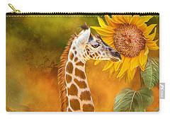 Growing Tall - Giraffe Carry-all Pouch
