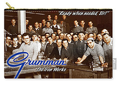 Grumman Iron Works Shop Workers Carry-all Pouch
