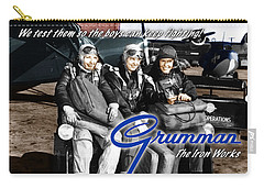 Grumman Test Pilots Carry-all Pouch