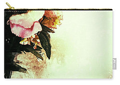 Grunge Flowers Carry-all Pouch