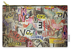 Grunge Textured Background Carry-all Pouch