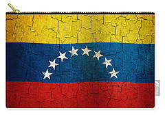 Grunge Venezuela Flag Carry-all Pouch