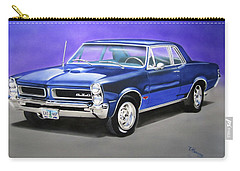 Carry-all Pouch featuring the painting Gto 1965 by Thomas J Herring