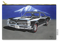 Carry-all Pouch featuring the painting Gto 1967 by Thomas J Herring