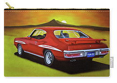 Carry-all Pouch featuring the painting Gto 1971 by Thomas J Herring
