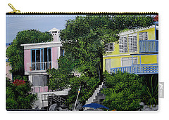 Guanica Bay Shoreline Carry-all Pouch by Luis F Rodriguez