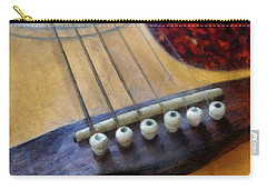 Guitar Carry-all Pouch by Michelle Calkins