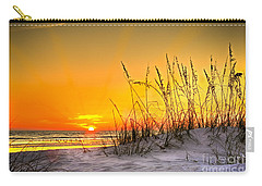 Gulf Sunset Carry-all Pouch by Marvin Spates