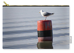 Gull Carry-all Pouch by Spikey Mouse Photography