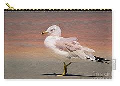 Gull Onthe Beach Carry-all Pouch