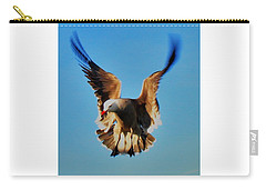 Carry-all Pouch featuring the photograph Gull Wing by John King