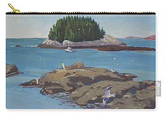 Gulls At Five Islands Carry-all Pouch