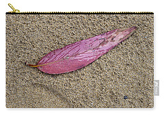Gum Leaf On Beach Carry-all Pouch