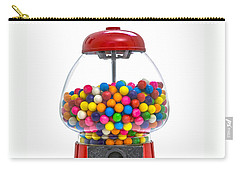 Gumball Machine Carry-all Pouch by Diane Diederich
