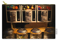 Gumball Memories - Row Of Antique Vintage Vending Machines - Iconic New York City Carry-all Pouch
