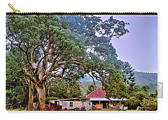 Carry-all Pouch featuring the photograph Gumtree Gully by Wallaroo Images