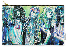 Guns N' Roses - Watercolor Portrait Carry-all Pouch