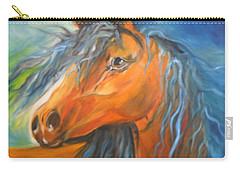 Carry-all Pouch featuring the painting Gypsy by Jenny Lee