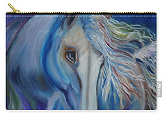 Carry-all Pouch featuring the painting Gypsy Shadow by Jenny Lee