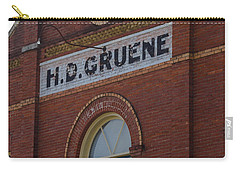 H D Gruene Carry-all Pouch
