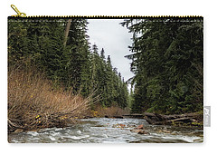 Carry-all Pouch featuring the photograph Hackleman Creek  by Belinda Greb
