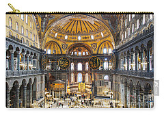 Hagia Sofia Interior 35 Carry-all Pouch by Antony McAulay
