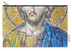 Hagia Sofia Jesus Mosaic Carry-all Pouch by Antony McAulay