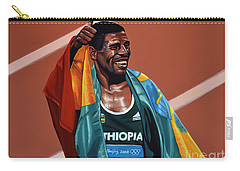 Haile Gebrselassie Carry-all Pouch by Paul Meijering