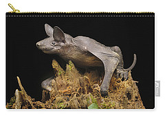 Hairless Bat Tibu Batang Ai Np Malaysia Carry-all Pouch by Ch'ien Lee