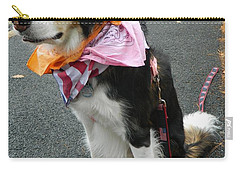 Carry-all Pouch featuring the photograph Haley The Wonder Dog by Emmy Marie Vickers