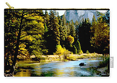 Half Dome Yosemite River Valley Carry-all Pouch