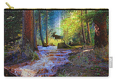 Hall Valley Moose Carry-all Pouch by J Griff Griffin