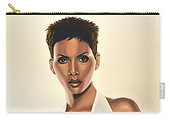 Halle Berry Painting Carry-all Pouch