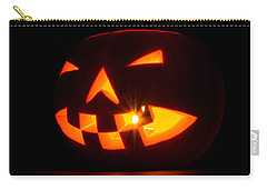 Halloween - Smiling Jack O' Lantern Carry-all Pouch