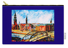 Hamburg - The Beauty At The River Carry-all Pouch