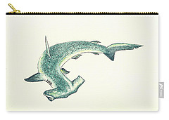 Hammerhead Shark Carry-All Pouches