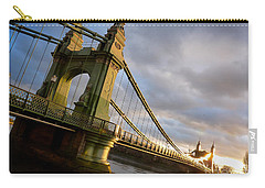 Hammersmith Bridge In London Carry-all Pouch