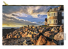 Hampton Beach Sunrise Carry-all Pouch