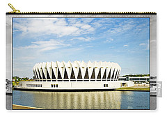 Hampton Coliseum Carry-all Pouch by Walter Herrit