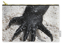 Hand Of A Marine Iguana Carry-all Pouch