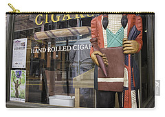 Hand Rolled Cigars Carry-all Pouch by Fran Gallogly